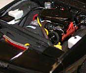 Knight Rider KITT 350 V8 engine
