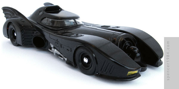 Michael Keaton's Batmobile from the movies Batman and Batman Returns