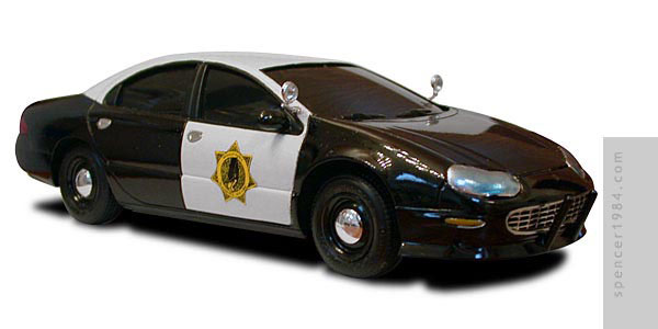 Fictional Blackhawk, New York Chrysler Concorde police car