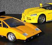 G1 Sunstreaker and Binaltech Sunstreaker