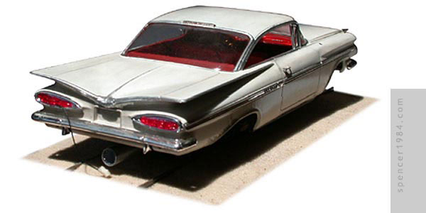 1959 Chevrolet Impala Rocket Sled from an online story