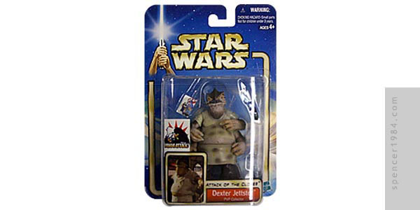 PvP Collector Dexter Jettster Star Wars custom figure
