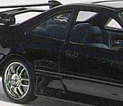 The Fast and the  Furious Honda Civic rear fender