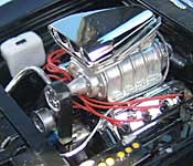 The Fast and the Furious Charger engine (left)