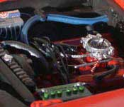 General Lee engine with air cleaner removed