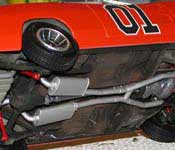 General Lee chassis detail