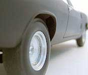 Blade Charger rear wheel