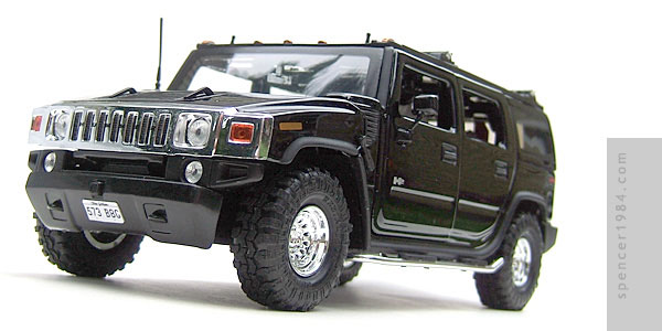Barbara Gordon's Hummer H2 from the TV show Birds of Prey
