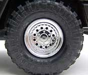 Oracle's Hummer tire