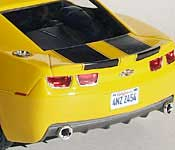 Movie Bumblebee rear with 4NZ Z454 California license plate