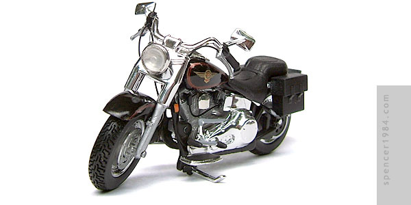 Arnold Schwarzenegger's Harley-Davidson Fat Boy from the movie Terminator 2: Judgment Day