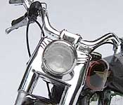 T2 Harley headlight detail