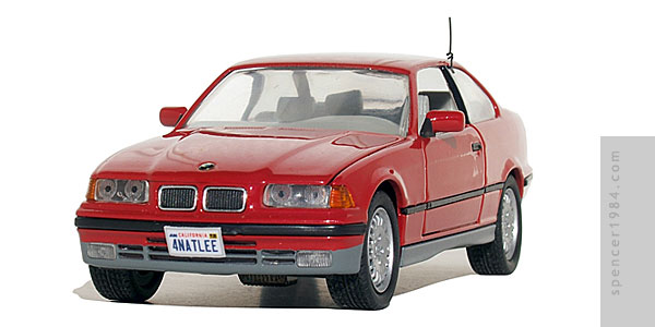Charlie Sheen/Kristy Swanson's BMW 325is from the movie The Chase