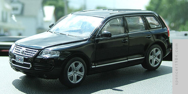 Christian Slater's VW Touareg from the movie Alone in the Dark