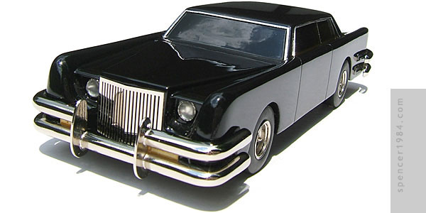 Lincoln Continental customized by Barris Kustoms for the movie The Car