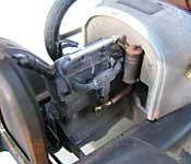 Beverly Hillbillies Truck left side engine detail