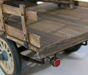 Beverly Hillbillies Truck wood grain detail