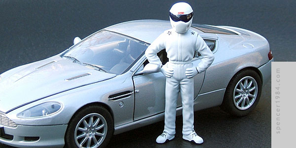 The Stig from the TV series Top Gear