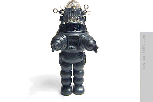 Robby the Robot from the movie Forbidden Planet