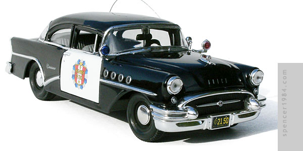1955 Buick Century Police car from the TV series Highway Patrol