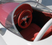 Speed Racer's F1 Mach 5 cockpit