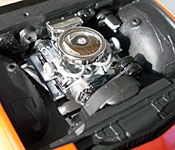 Turbo Teen Firebird engine