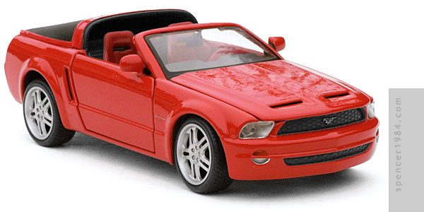 Mustang from the Robot Chicken Turbo Teen parody