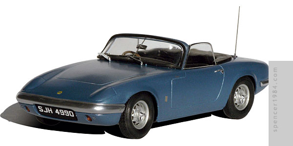 Emma Peel's Lotus Elan from the TV series The Avengers