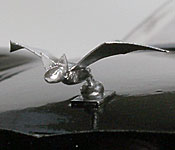 Teen Titans #9 Batmobile hood ornament