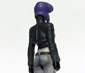 Major Motoko Kusanagi back detail