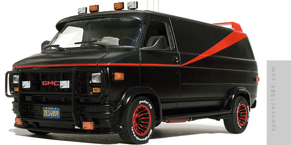 GMC Vandura used in the TV series The A-Team