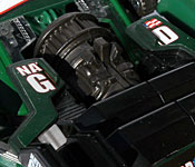 DotM Roadbuster rear engine detail