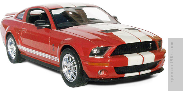 Will Smith's Shelby Mustang GT-500 from the movie I Am Legend