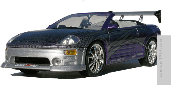 Tyrese's Mitsubishi Eclipse Spyder from the movie 2 Fast 2 Furious