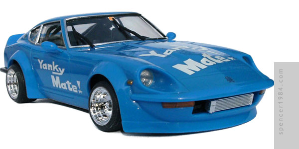Akira's Yanky Mate! Nissan Fairlady Z from the manga Shakotan Boogie