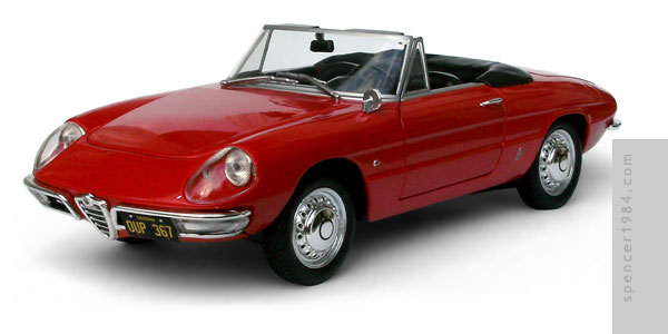 Alfa Romeo Spider 1600 from the movie The Graduate