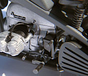 Indiana Jones and the Last Crusade motorcycle engine