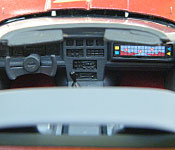 Karate Corvette dashboard