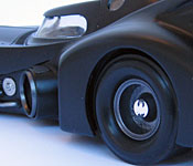 1989 Batmobile rear wheel