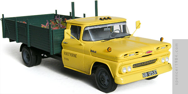 Chevrolet truck driven by Sean Connery in From Russia with Love