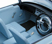 Dr. No Sunbeam Alpine interior