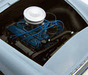 Dr. No Sunbeam Alpine engine