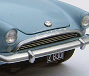 Dr. No Sunbeam Alpine grille detail