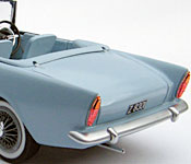 Dr. No Sunbeam Alpine rear