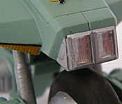 Mospeada/Robotech Ride Armor headlight detail