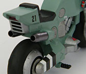 Mospeada/Robotech armor-bike rear