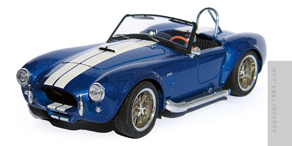 Shelby Cobra from the movie Finish Line