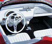 Riptide Corvette interior