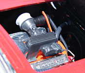 Riptide Corvette engine right side