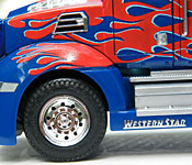 Optimus Prime side detail